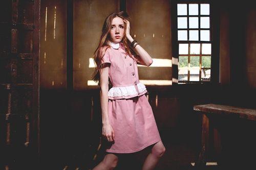 Жакет с коротким рукавом пыльно-розового цвета