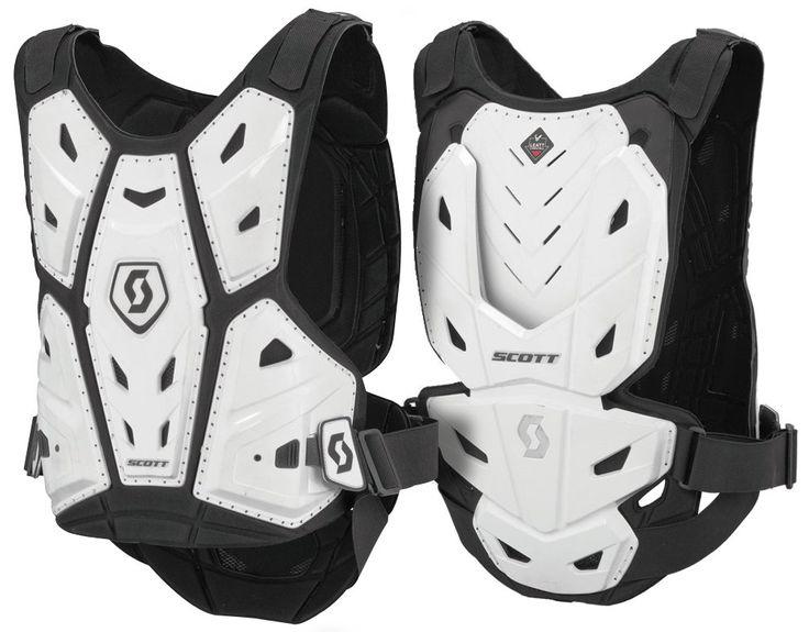 Scott COMMANDER Body Armor (WHT) *LEATT Compatible*