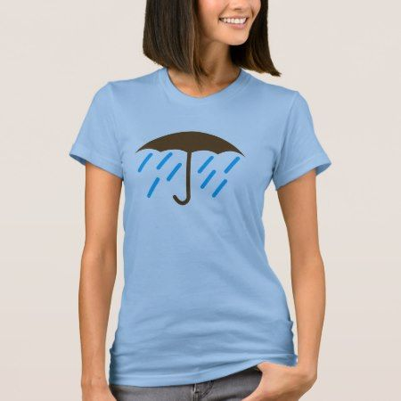 Umbrella Rain T-Shirt - tap to personalize and get yours