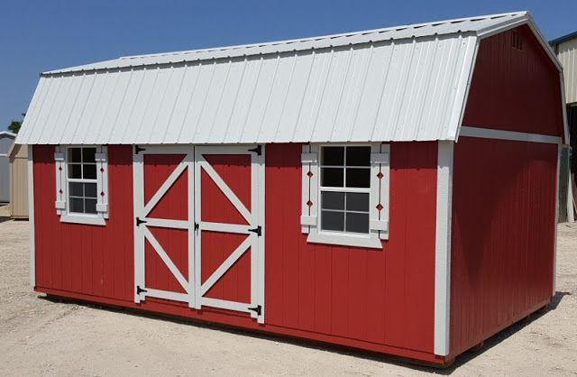 side lofted barn storage shed portable building in stock for quick delivery cash or no credit check rent to o - Garden Sheds Quick Delivery