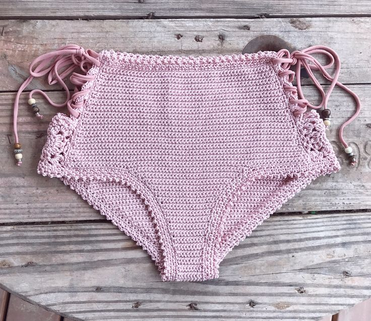 PDF-file for Crochet PATTERN Aliyah Crochet Bikini Bottom