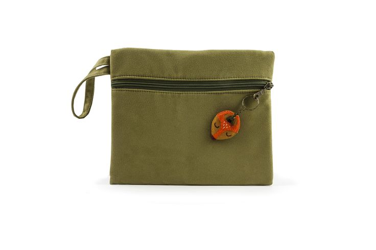 Bax & Bay  Luxury accessories for parents Olive Suede Clutch www.baxandbay.com www.alegremedia.com #alegremedia