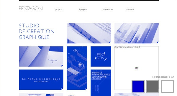 30 Beautiful Three-Colors Websites For Your Inspiration