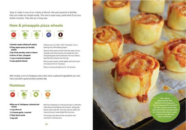 Ham & pineapple pizza wheels from @munch