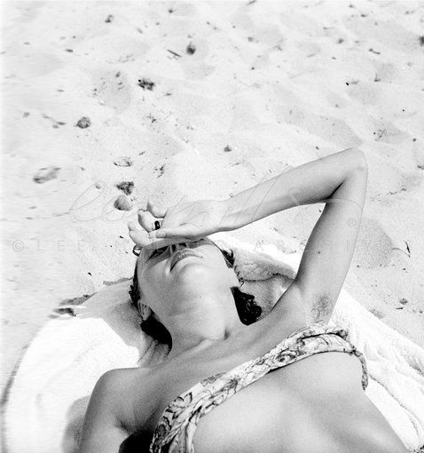 By Lee Miller. 1937. Cote de Azure. France.