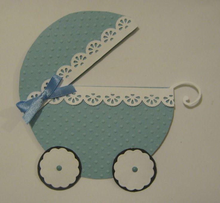 Kisfiú született! - babaértesítő lap