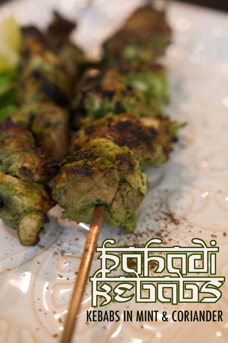 Pahadi Kebabs - Mint & Coriander Chicken https://www.youtube.com/watch?v=Y1j_YyjI7IU