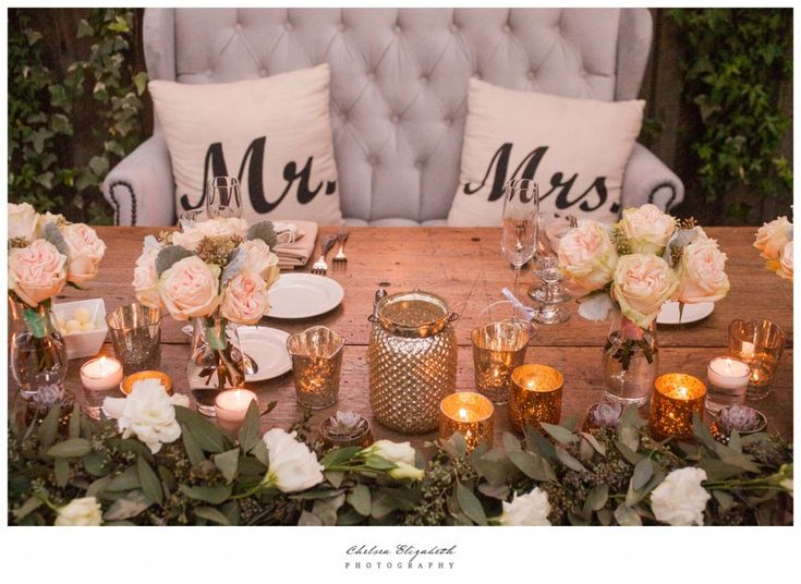 Calamigos Ranch Wedding, Malibu California, @calamigosranch @chelseaestudio Ranch Weddings, Country Chic, Bride and Groom Table, Sweetheart Table, Mr and Mrs, Soft Pink Flowers