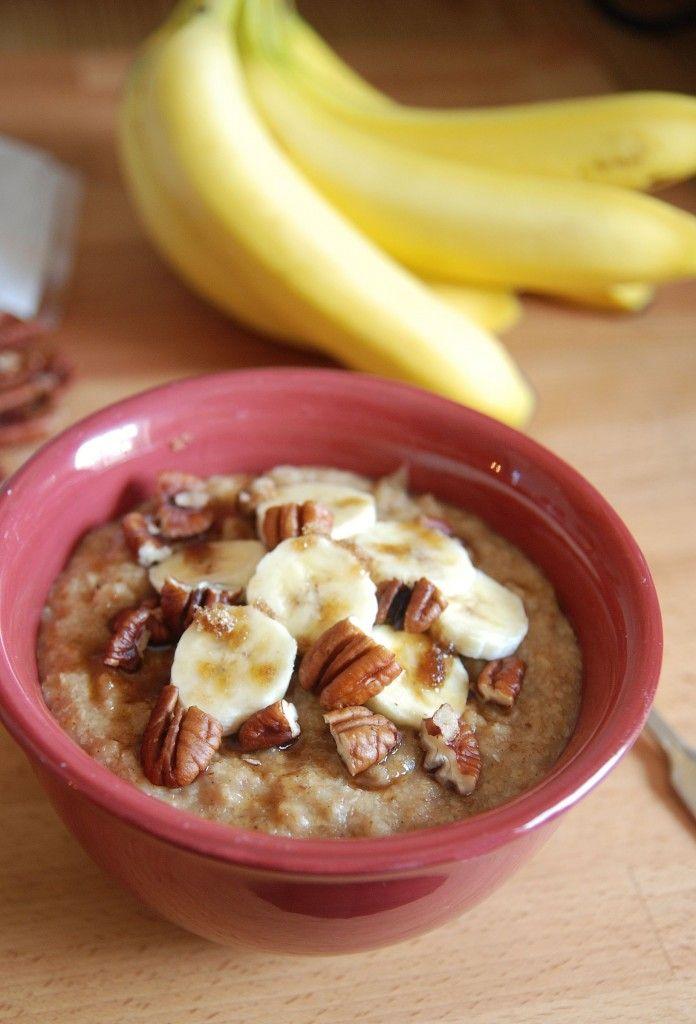 The Novice Chef » Skinny Wheat Germ Oatmeal