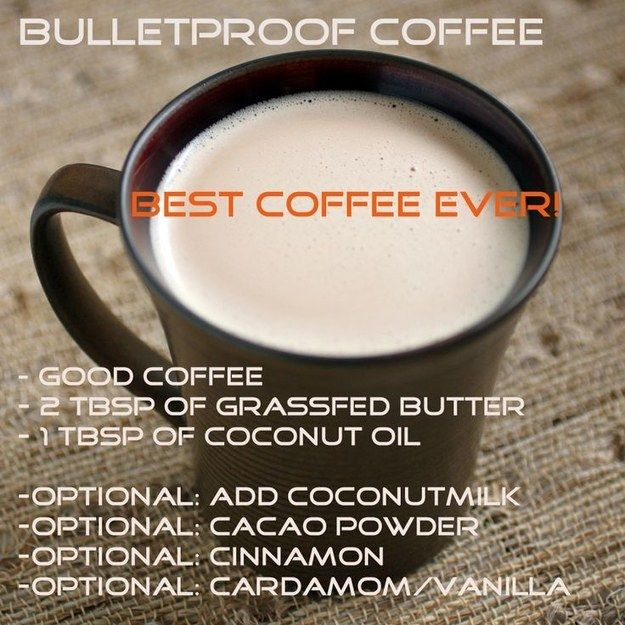 Bulletproof Coffee | 19 Genius New Ways To Drink Your Coffee