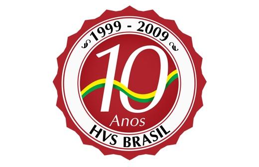 HVS - Selo comemorativo 10 anos