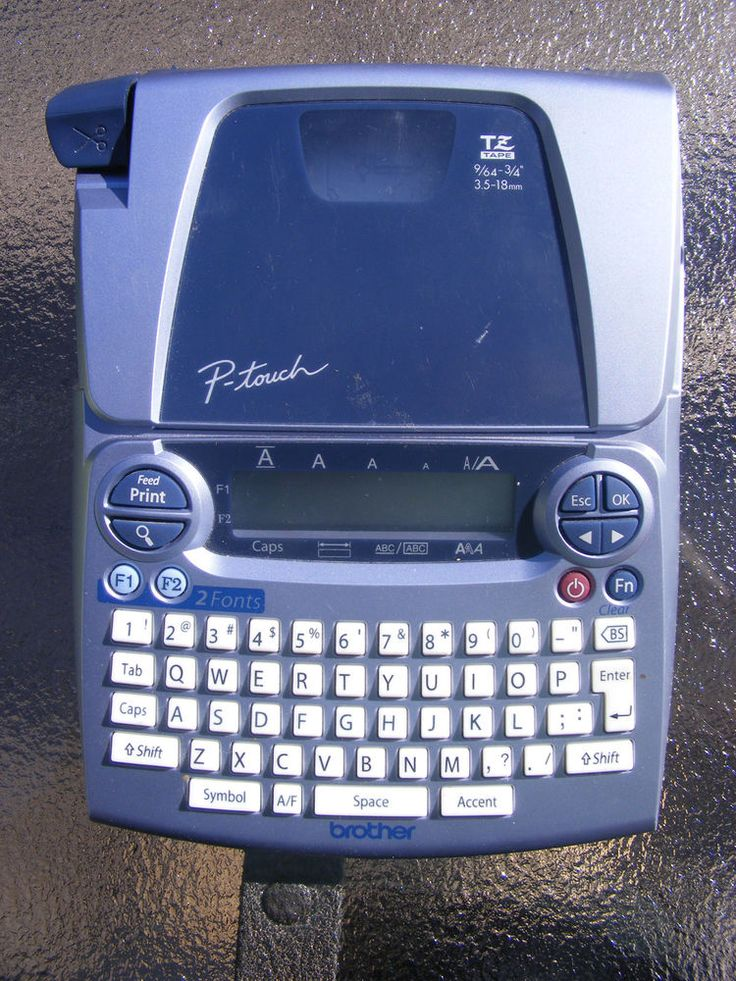 Brother P-Touch Label Maker Model PT-1880 Thermal Printer #Brother