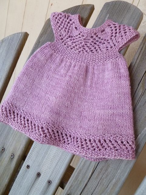 Knitting Patterns Baby Frocks : 1000+ images about Crochet & knitted Baby Dresses on Pinterest Crochet ...