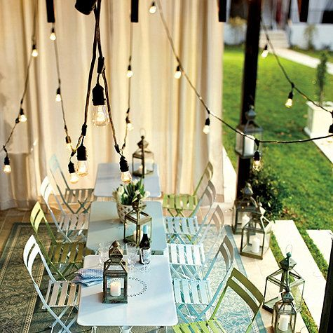 17 Best ideas about Vintage String Lights on Pinterest Lighted trees, Rooftop party and Tree ...