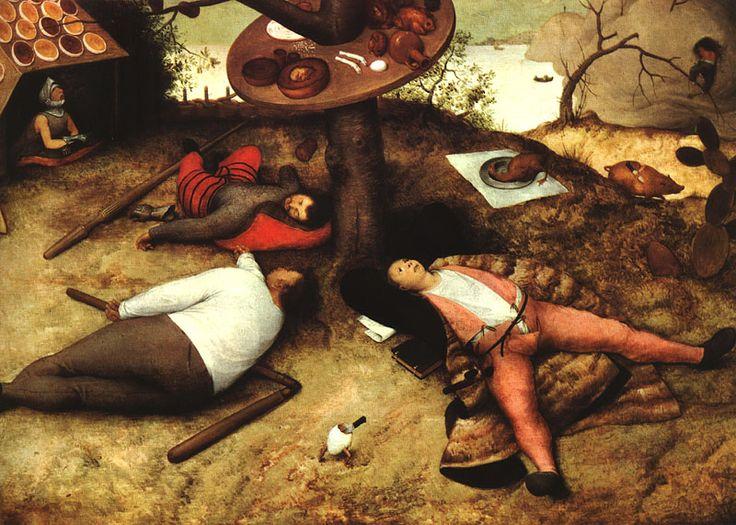 Le pays de cocagne - Bruegel