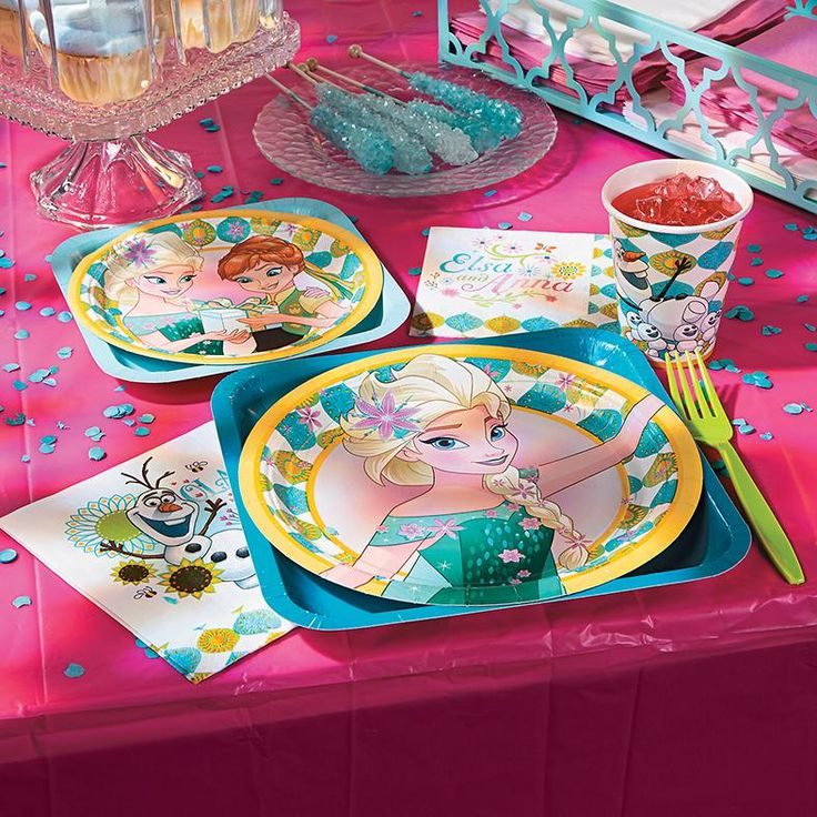 Disney® Frozen Fever Party Supplies | Have a very Frozen birthday with Elsa, Anna and Olaf! These Frozen birthday party supplies will make any party extra-special. #Frozen #party