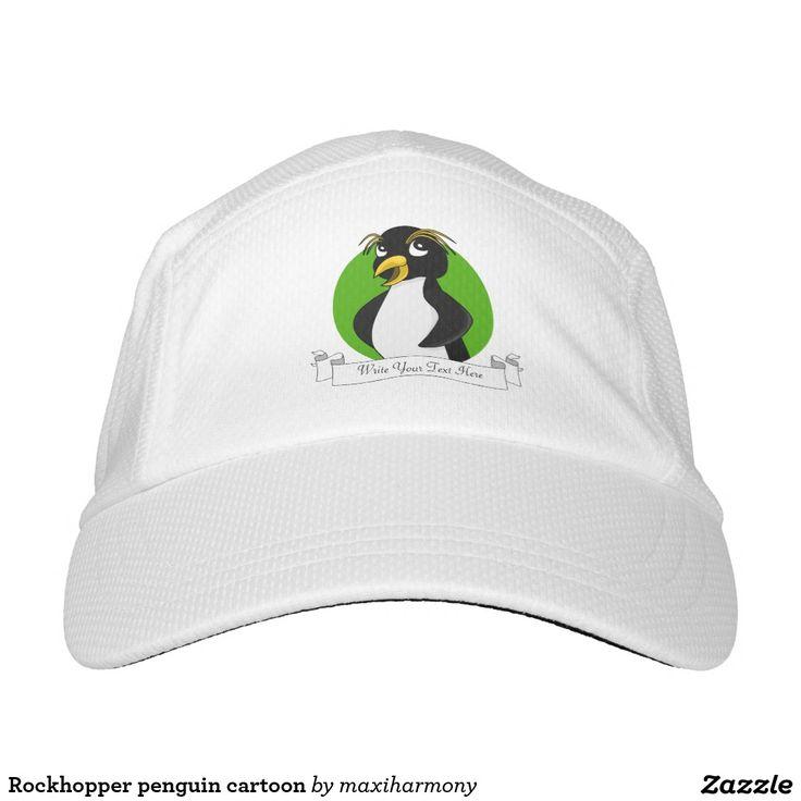 Rockhopper penguin cartoon headsweats hat