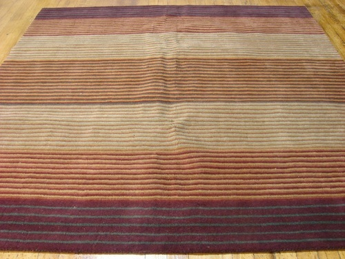 251x251 Burgundy Gabbeh Area Rug $487 plus 30% discount online