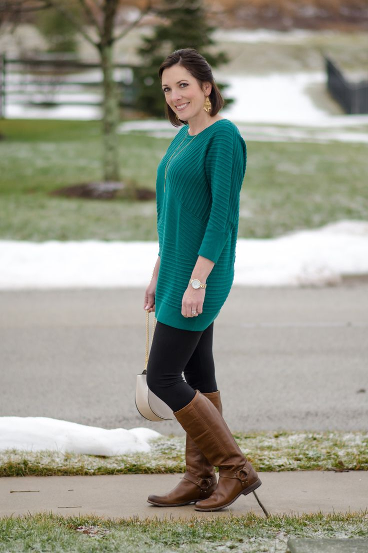 Best 25  Green tunic ideas on Pinterest | Nordstrom, Hunter boots ...