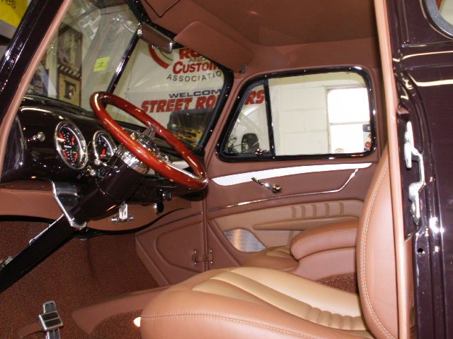 1953 Chevrolet Truck Leather Custom Interior Interiors By