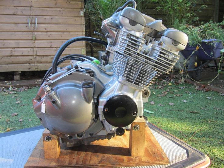 Genuine YAMAHA engine removed with care cleaned and de-greased came from a running bike with 13595miles on the clock in great condition with excellent compression with good gearbox NO ALTERNATOR OR STARTER MOTOR - see photos. | eBay!