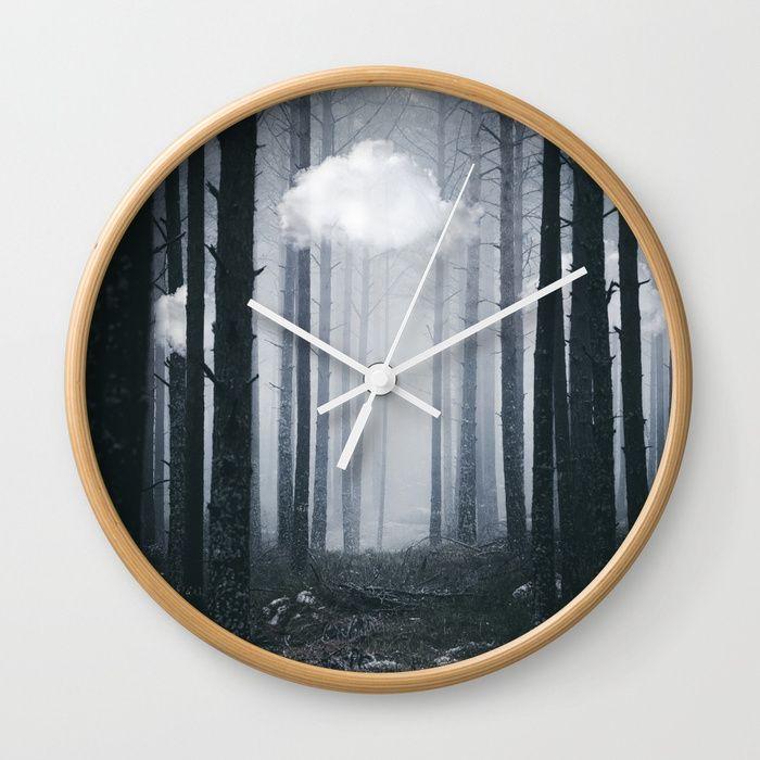 The ones that got away Wall Clock by HappyMelvin. #homedecor #wallclocks #wallclock #nature #surreal #artwork #photography