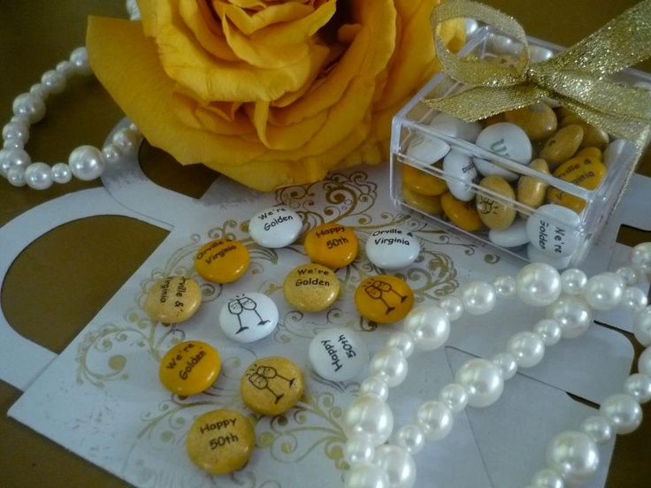 Wedding Take Away Gifts: 17 Best Images About 50th On Pinterest