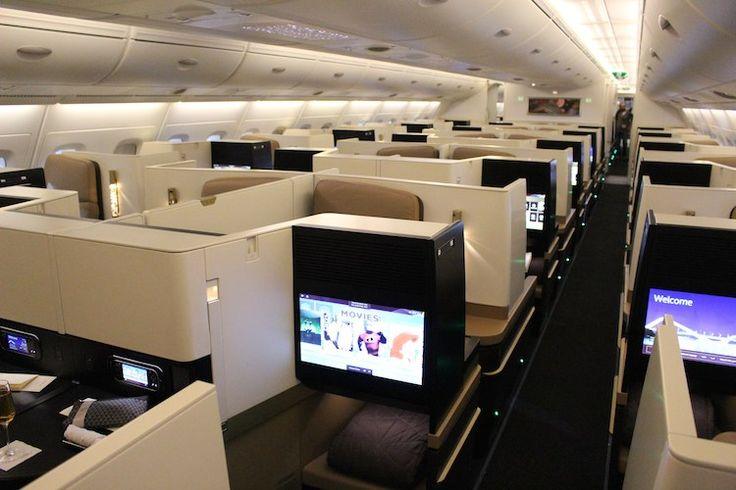 Etihad Business Class A380  - empfohlen von First Class and More