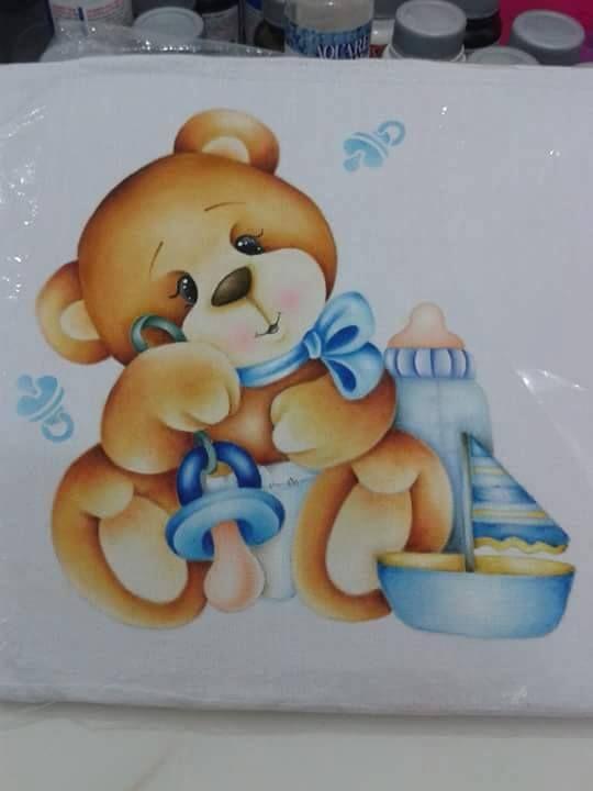 25 melhores ideias sobre fraldas pintadas no pinterest - Pintura infantil pared ...