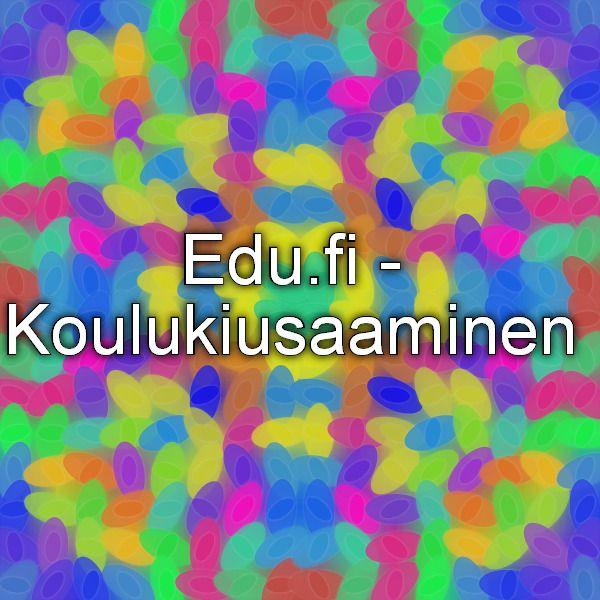 Edu.fi - Koulukiusaaminenö