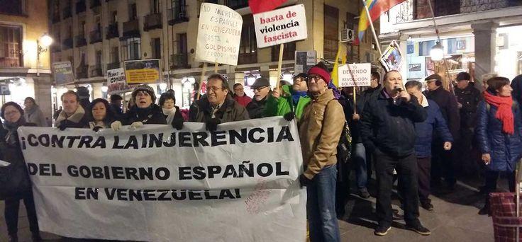 FOTOS | Manifiestan en Madrid contra injerencia de la Unión Europea en Venezuela | Últimas Noticias