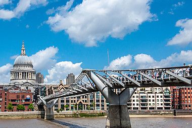 Ponte do Milênio, Londres