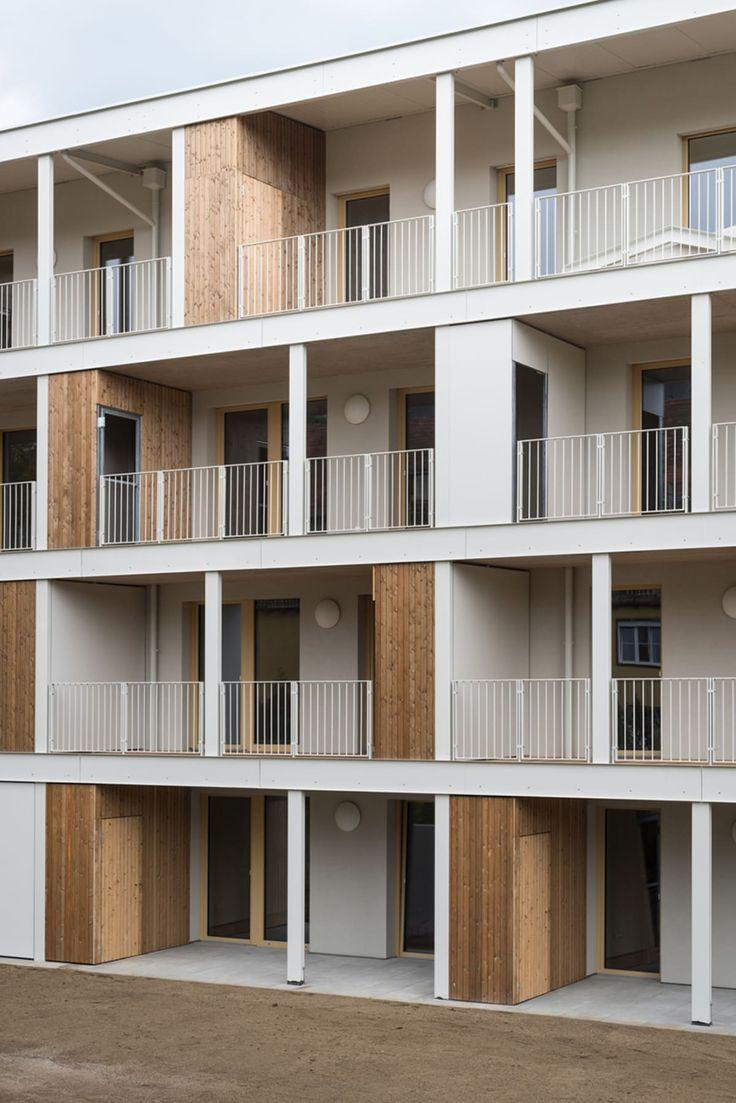 Ederer + Haghirian Architekten · Wohnbau Ludwig SChlacher Gasse