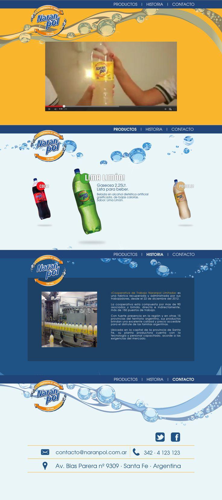 Diseño, maquetado y desarrollo de sitio web