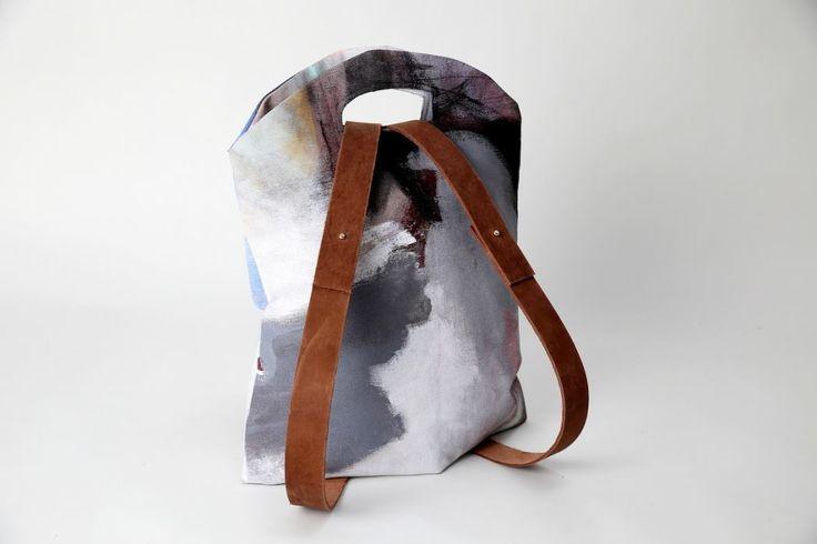 SOFF _ pakk_art collaboration _ Budapest _ backpack meets fine art