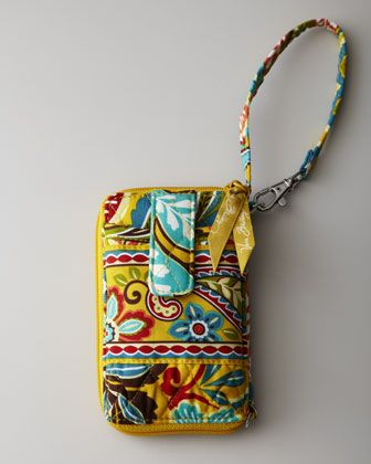 """""""Provencal"""" Carry it All Wristlet by Vera Bradley at Horchow."""