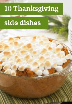 10 Thanksgiving side dishes