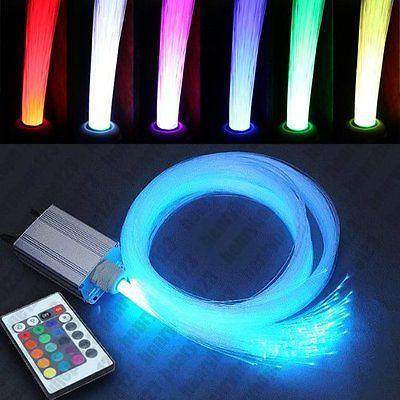 5WLED Sternenhimmel Glasfaser Lichtfaser 240 Lichtpunkte Leuchten Dimmbar RGB
