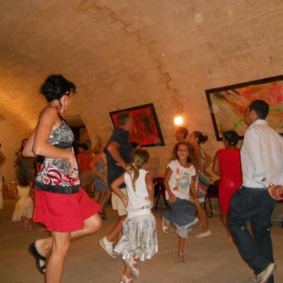 #PugliaOpenDays stage di #pizzica al Parco Palmieri di Martignano, #Salento #taranta