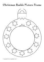 164 best christmas teaching resources images on pinterest for Christmas baubles templates to colour