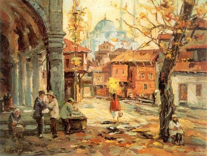 İbrahim Safi ++++++++++++++++++++++ https://es.pinterest.com/resatsirac/turkish-painting/