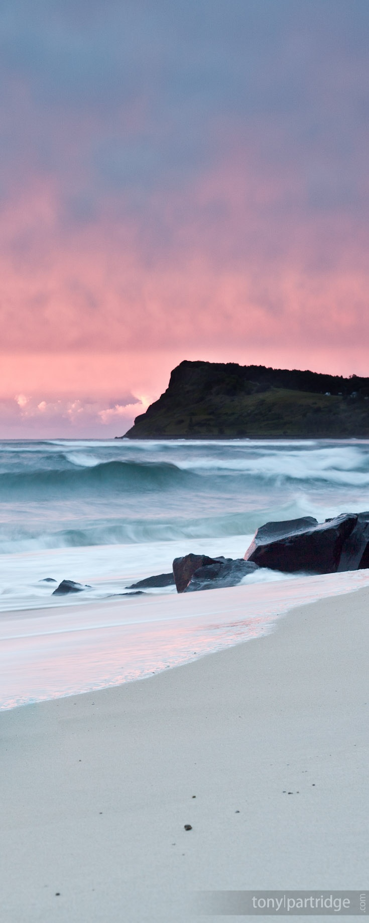 Beautiful Lennox Head at sunrise #seascape #photography