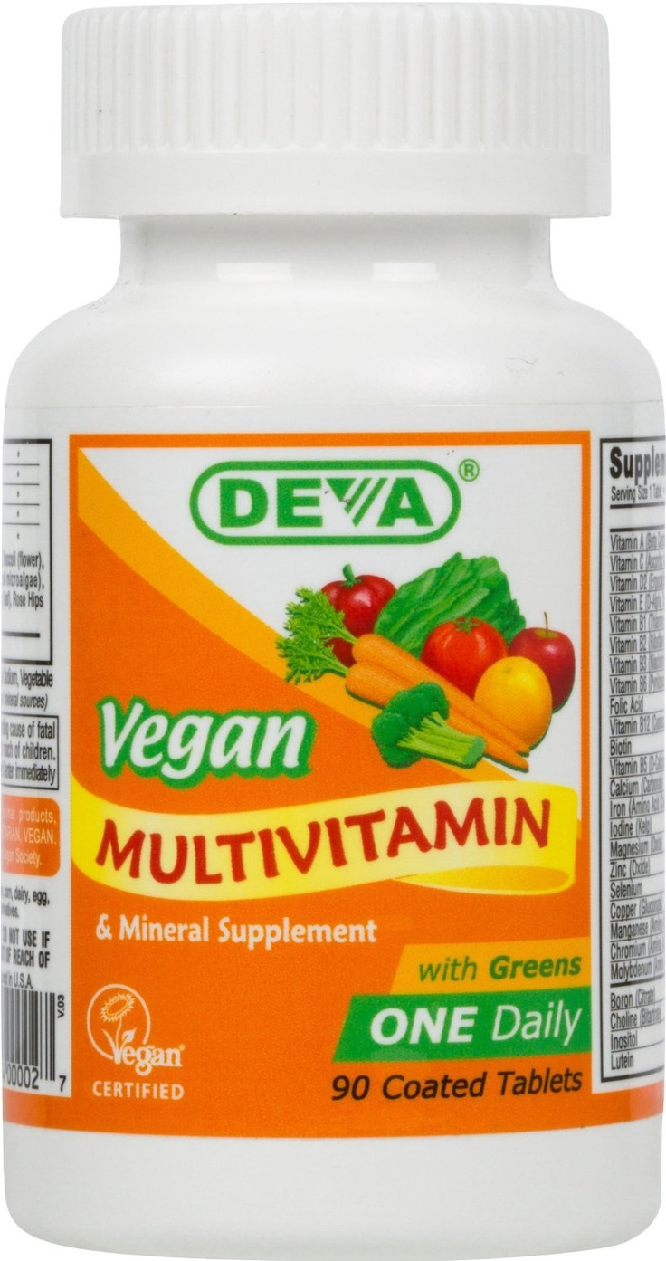 Deva Vegan Vitamins Daily Multivitamin & Mineral Supplement
