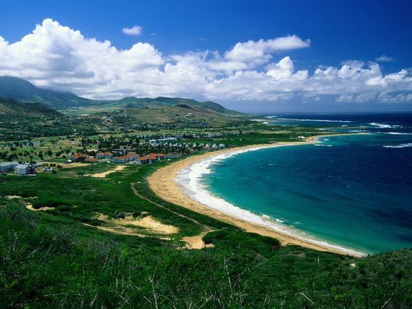 Saint Kitts and Nevis....just look at that water!!!