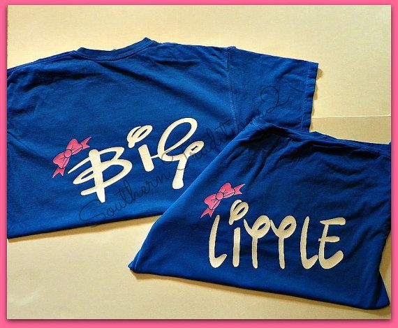 Sorority T Shirt  Big Little T shirt  by SouthernTraditions2