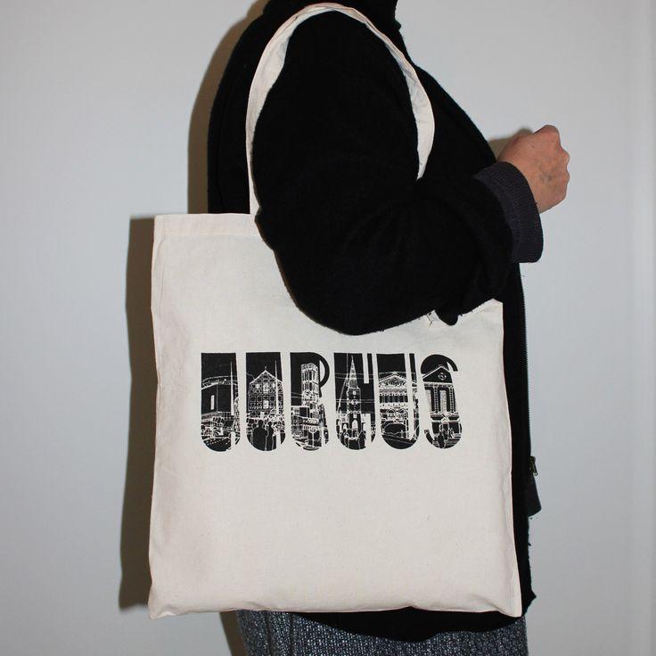 AARHUS Tote Bag / AARHUS Molepose / Denmark