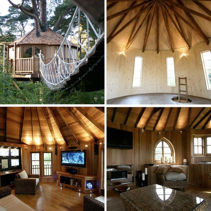 I want my own treehouse lounge