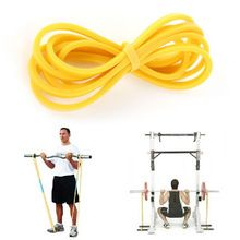 Elastic Latex Loop Band Fitness Body Workout Training Crossfit Resistance Band Yellow Blue Green Red //Price: $US $1.95 & FREE Shipping //