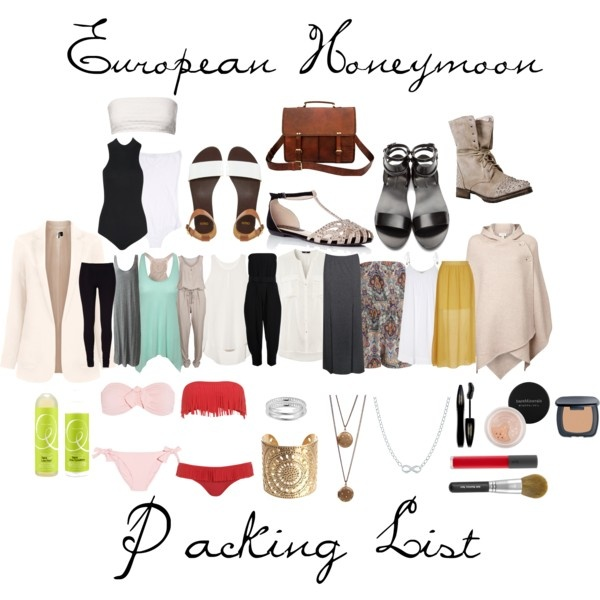 Best 10+ Honeymoon Packing Lists Ideas On Pinterest | Honeymoon