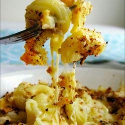 Crock pot mac & cheese - sunday dinner. We love, love, love